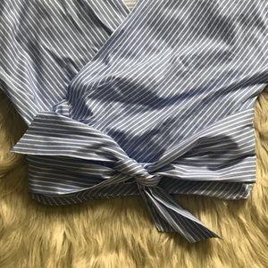 Zara Tops - Zara Wrap Blouse